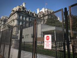 Even More Fencing Has Gone Up Around The White House Complex Washingtonian Dc