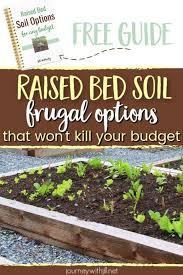 raised bed soil mixture