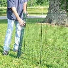 One Step Temporary Fencing Kit Diy Dog Fence Dog Fence Temporary Fence For Dogs