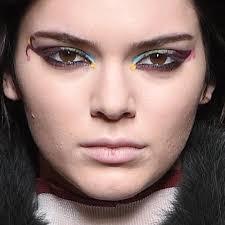kendall jenner makeup black eyeshadow