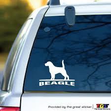 Will Be Sticker Beagle Dog Car Vinyl Racing Sports Decal Car Sticker For Car Accessories Car Stickers 15cm Car Stickers Aliexpress