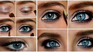 some makeup tips for blue eyes in