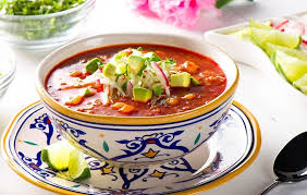 chorizo and hominy soup there s