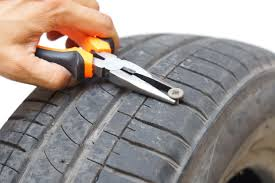 if you get a nail in your tyre should