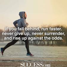 inspiring quotes about never giving up success