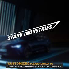 Jdm Decal For Car Stark Industries Decal Outdoors Avengers Windows Ironman Car Truck Graphics Decals Auto Parts And Vehicles Tamerindsa Com Ar