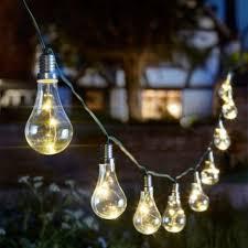 eureka light bulb string solar powered