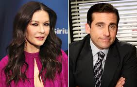 Catherine Zeta-Jones Shows Off Script Written by Michael Scott ...