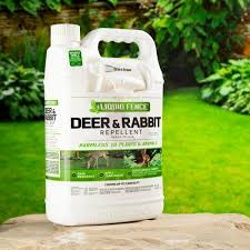 Liquid Fence 1 Gal Ready To Use Deer And Rabbit Repellent Hg 70109 2 The Home Depot
