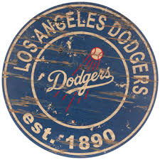 Los Angeles Dodgers Round Wood Wall Decor Hobby Lobby 1810027