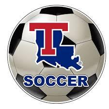 Louisiana Tech Bulldogs 4 Inch Round Soccer Ball Vinyl Decal Sticker Walmart Com Walmart Com