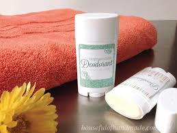 homemade deodorant stick houseful of
