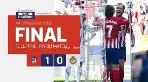 Атлетико Мадрид 1-0 Реал Вальядолид полное видео видео - LaLiga ...
