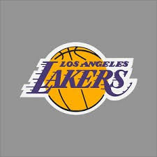 Los Angeles Lakers Nba Team Logo Vinyl Decal Sticker Car Window Wall Cornhole Ebay