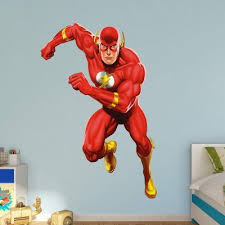 Fathead The Flash In Action Wall Decal 97 97026 Wall Decals Pikachu Wallpaper The Flash