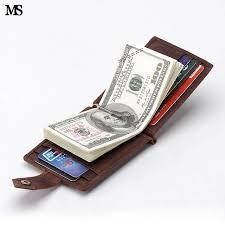 men money clip slim bifold wallet