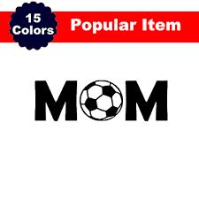 Soccer Sticker Soccer Mom Decal For Car Yeti Tumbler Water Bottle Laptop Ebay