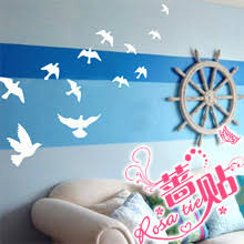 Seagull Birds Wall Stickers Seagull Wall Decals 22 Colors Choosed Sticker Girl Stickersticker For Aliexpress