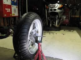 homemade motorcycle tire balancer