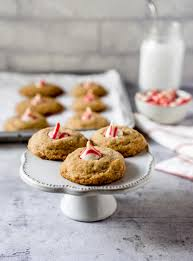 candy cane hershey kiss cookies the