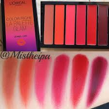 lip palette more swatches