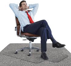 Office Chair Mat With Anti Fatigue Cushioned Foam Chair Mat For Harwood Floor With Foot Rest