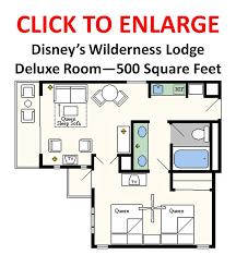 floor plans of walt disney world resort