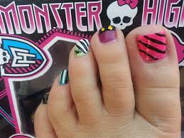 monster high colors nail art gallery