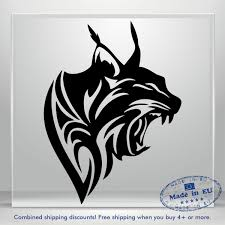 Lynx Puma Sticker Auto Car Bumper Window Vinyl Decal Lion Panther Cat Amount Art Ebay