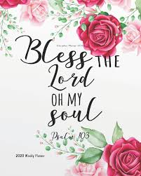 bible quotes planner christian planner floral cover