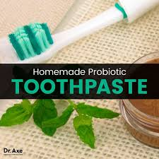 homemade probiotic toothpaste