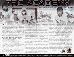 trc hockey the rise centre trc academy