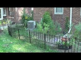 Finishing Up The Garden Fence Youtube
