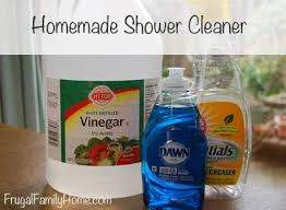 homemade shower cleaner recipe frugal