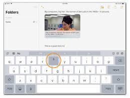 flicks and other ipad keyboard tricks