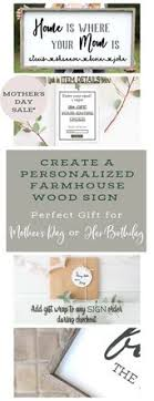 birthday quotes home is where your mom is mother day sign wood