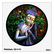 Mindfulness Meditation Wall Decals Stickers Zazzle
