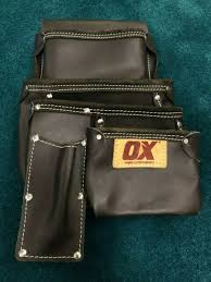 ox tools pro leather framers pouch for
