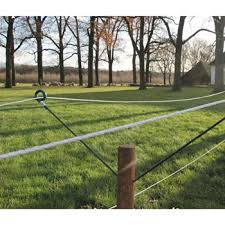 Extra Long Steel Pigtail Distance Insulators For Electric Fences