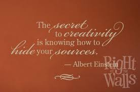 Secret To Creativity Quote Wall Decals Vinyl Art Stickers