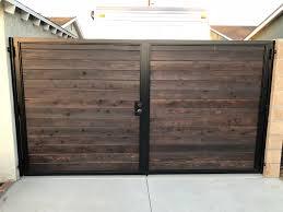 Double Wide Rv Gate House Gate Design Door Gate Design Metal Driveway Gates