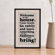 dracula quotes welcome to my house new home gift book page