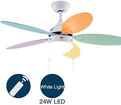 Simple Modern Ceiling Fan With Led Bowl Light 5 Blade Low Profile Electric Fan For Bedroom Restaurant Kids Room Summer Breeze Flush Mount Indoor Chandelier B Amazon Com