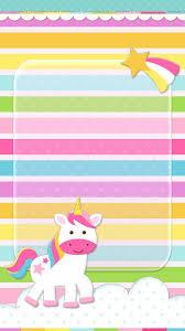 Unicorn Cute Wallpaper Unicornwallpaper Fondos De Unicornios