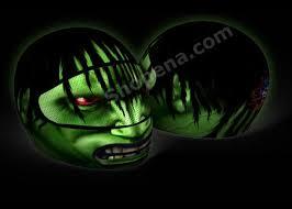 The Hulk Motorcycle Helmet Cover Skullskins