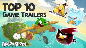 Angry Birds - Top 10 Game Trailers Compilation - YouTube