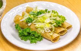 tacos dorados de pollo receta mexicana