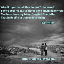 quotes about friendship charlotte s web wiluk quotes