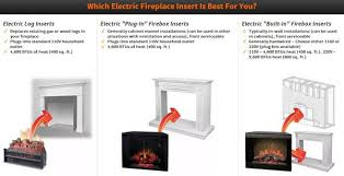 built in electric fireplaces