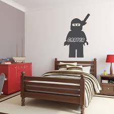Personalized Wall Decal Lego Ninjago With Name In Character Customvinyldecor Com